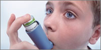 Link between damp and development of asthma