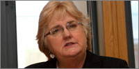 Chief nursing officer Professor Christine Beasley