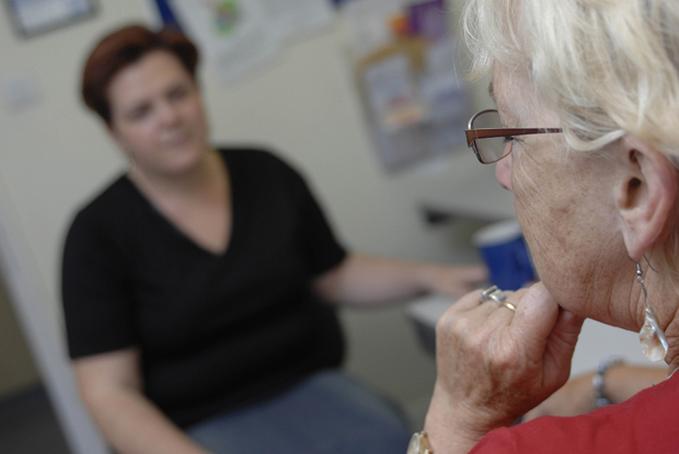 Social care shortfall has added to GP workload (Photo: Simon Barber)