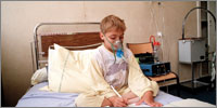 CF patients may require nebulised antibiotics, depending on the infecting organism and severity of infection