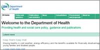 DoH website closure