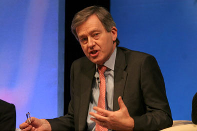 Stephen Dorrell was part of the panel discussion