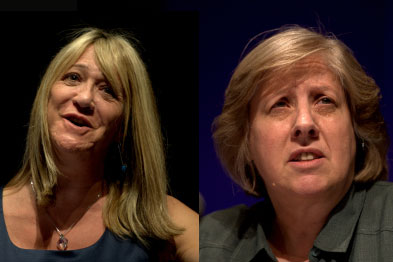 Dr Michelle Drage and Dr Fay Wilson: joint bid for GPC leadership
