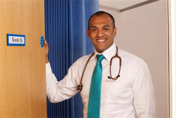 Dr Chrisanthan Ferdinand, who stars in the programme (Photo: Channel 5/Knickerbockerglory Ltd)