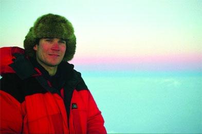 Edinburgh GP Dr Gavin Francis: author of Empire Antarctica - Ice, Silence and Emperor Penguins