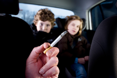 Smoking: GPs back ban on smoking in cars with children (photo: istock)