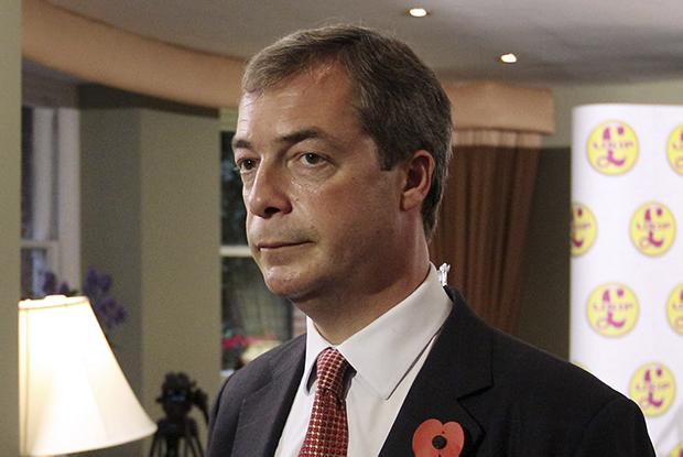 Nigel Farage: Ukip manifesto launch (Photo: iStock)
