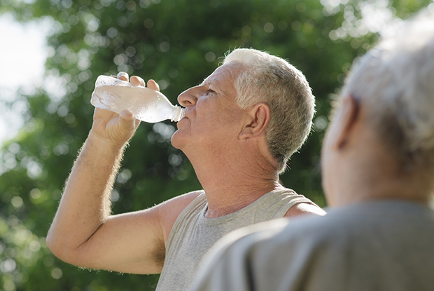 Heatwave warning: older patients at risk (Photo: iStock)