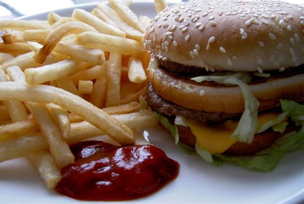 Junk food: poor diet COPD risk