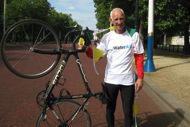 Dr John McAvoy: raised over £1,000 for charity