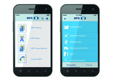 Free app offering medio-legal advice can be used on mobile or tablet