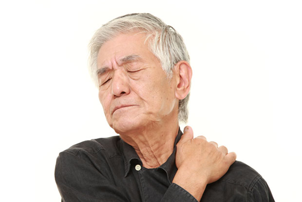 Elderly facial twitching