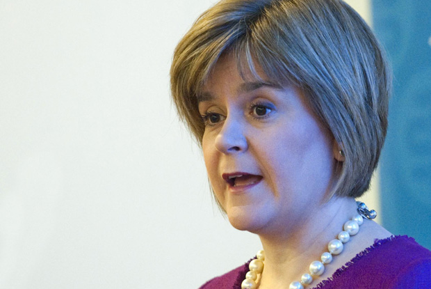 Scottish first minister Nicola Sturgeon (Photo: Douglas Robertson)