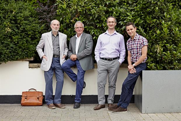 The James Wigg Practice: (L-R) Mr Penrose Robertson, Dr Roy Macgregor, Dr Philip Posner, Dr Stephen Yaxley