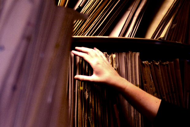 Paper records to be digitised (Photo: JH Lancy)