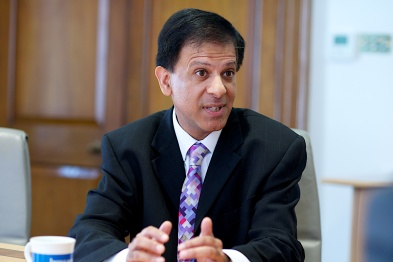 Dr Chaand Nagpaul: there are unexploited opportunities from collaboration (photo: Jason Heath Lancy)