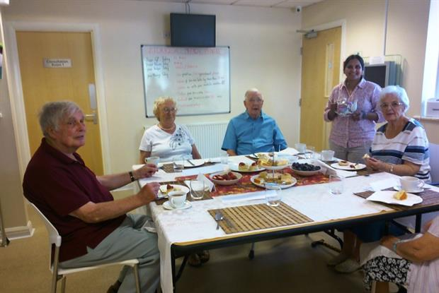 Storrsdale Medical Practice now offers tea afternoons for older people once a month (Photo: Gwen Lightfoot/Contact the Elderly)