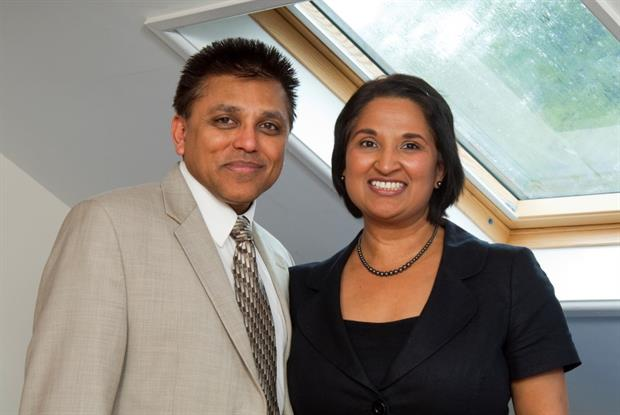Drs Sanjay and Shikha Pitalia: husband and wife GP team behind SSP health (Photo: Pete Hill)