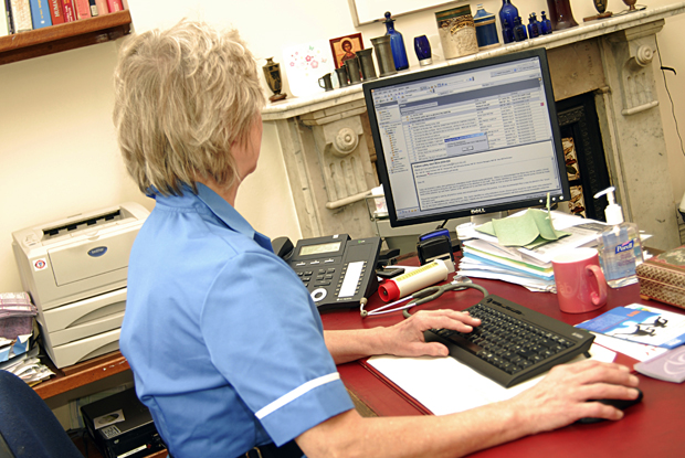 Practice nurse: plan for expanded role (Photo: JH Lancy)
