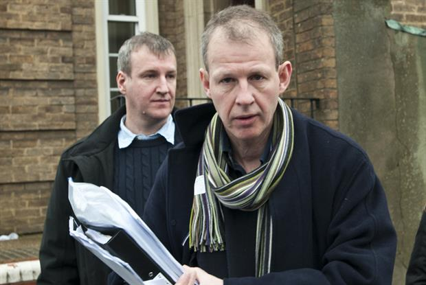 Dr Stuart Gray (right) and Rory Gray: welcome GMC language checks (Pic: Rex Features)