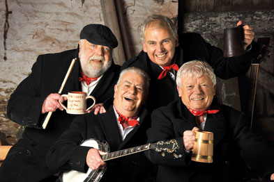 Wurzels: raising funds for SAVES service