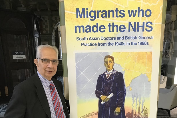Dr Shiv Pande moved to the UK in 1971 (Photo: RCGP)