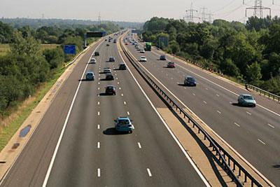 M27 motorway (credit: Peter Facey / CCA - CL)
