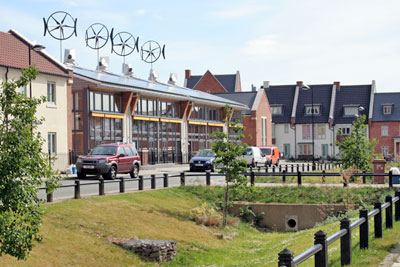 Upton eco-housing development (credit: Northampton Borough Council)