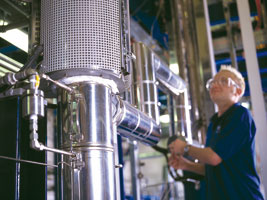 Catalyst manufacturing at Johnson Matthey