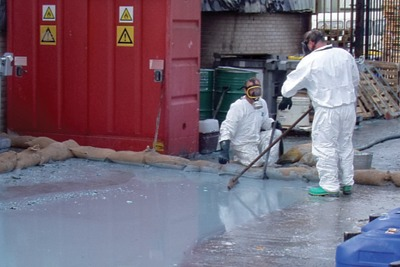 Biolab's chemical spill, courtesy of the Environment Agency