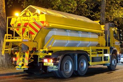 Transport for London's dust suppressant vehicle