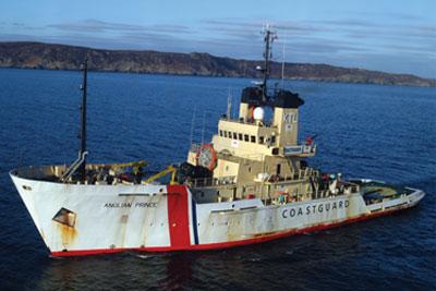 The Maritime and Coastguard Agency's 'Anglian Prince' salvage tug