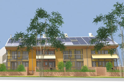 Zero-carbon home design (credit: Stramit Technology Group Limited)
