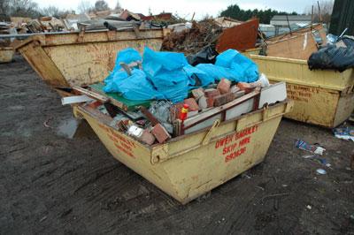 Owen Baguley's Roseway and Springdale waste site, Blackpool