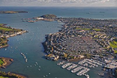 Falmouth Marina, credit: Getty images