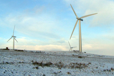 RES Groups' Black Hill windfarm in the Scottish Borders. The firm believes the government's reform plans could impact on future projects