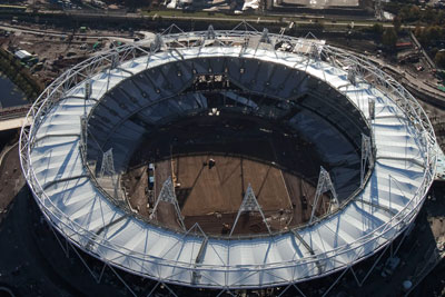 Olympic site, London. Courtesy of the ODA