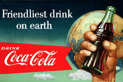 An Australian advert for Coca-Cola from 1940