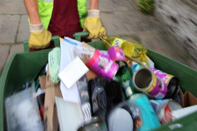 Recycling. Courtesy of Veolia