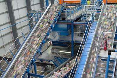 Eco plastics' factory, Lincolnshire