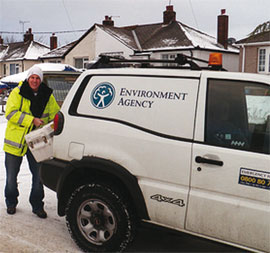Environment agency van