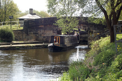 Brookfoot canal, UK. Courtesy of Claire Bell, CCA2