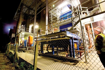 Isle of Wight's gassification plant (credit: Energos)