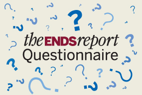 ENDS Report questionnaire