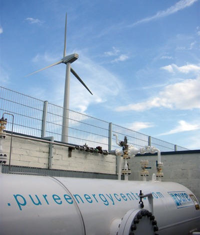 Hydrogen storage, Scotland (Pure Energy / The Hydrogen Office)