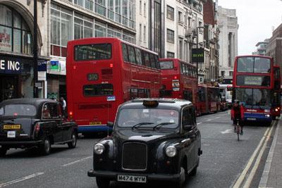 London traffic. Credit: David Caster