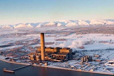 Scottish Power's 2.3-gigawatt Longannet coal-fired power plant near Stirling (credit: Scottish Power)