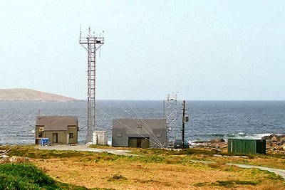 Mace Head Atmospheric Research Station on the west coast of Ireland (credit: www.macehead.org)