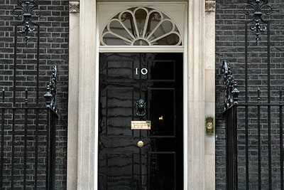 Ten downing street. Credit: The prime minister's office