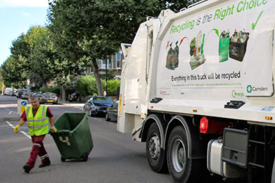 Kerbside waste collection (picture: Veolia Environmental Services)